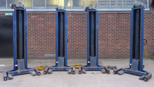 4 x Somers SVL 2002 Ton 28 Tonne set Truck Lorry Heavy Duty Mobile Column Lifts